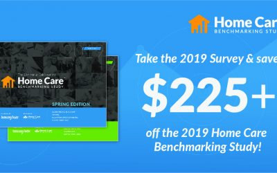 The 2019 Home Care Benchmarking Study Marks 10th Anniversary; Will Include Two Editions This Year