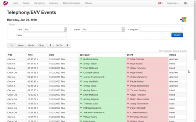 Feature Spotlight and Best Practices – Linking EVV Events
