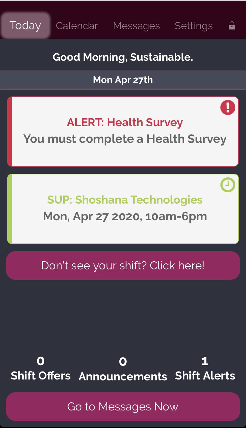 Rosemark Caregiver Mobile App